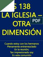 s 138 La Iglesia Otra Dimension