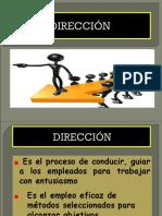 6 DIRECCIÓN