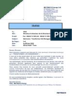 Transformer Life Mgmt Seminar 2015 - Tunisia - Pdg (1)