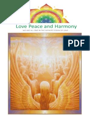love peace and harmony journal