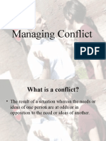Conflict Resolving(15,16&17)