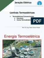 Analise Termoeconomica de Uma Usina Termeletrica a Gas Natural Operando Em Ciclo Aberto e Em Ciclo Combinado