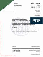 ABNT NBR IEC 60601-1-11