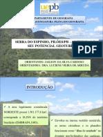 Apresentação Término de Conclusão de Curso , Jailson Cardoso, 2014