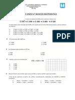 Ensayo Simce Matematica 4os