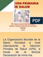 Atencion Primaria de Salud 2010