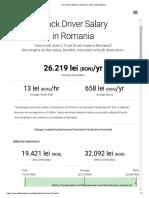 Truck Driver Salary in Romania - ERI _ SalaryExpert