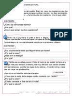 3 Lecturas Independiente