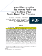 Azanza et al. 2017. Valuing and  Managing Philippines' Marine Resources toward a Prosperous Ocean-based Blue  Economy. Public Policy Journal. 18.1-26.pdf