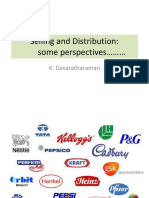 Selling and Distribution - Curtain Raiser