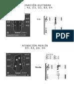 AFINACION MERLIN -GUITARRA.pdf