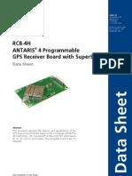 Rcb 4h Data Sheet(Gps.g4 Ms4 06034)