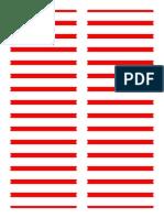 !!! Folder Labels WL200 1 RED Fillable