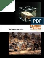 [Ensayo] Avendaño Santana, Lynda E. - Silencio y Política. Aproximaciones desde el arte, la filosofía, el psicoanálisis y el procomún. (2014, Universidad Autónoma de Madrid _ Universitat de Barcelona)(1).pdf