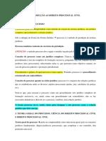 Resumo Direito Processual Civil I - Fredie Didier