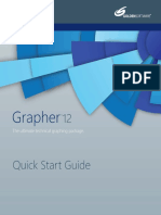 Grapher 12 Quick Start Guide