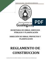 Reglamento Construcciones Dec. 203-16 Correciones