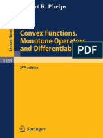 [Lecture Notes in Mathematics 1364] Robert R. Phelps - Convex Functions, Monotone Operators and Differentiability (1993, Springer) (1)