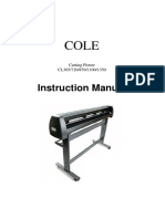 Manual Plotter COLETECH