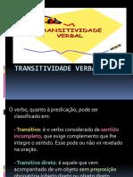 Transitividade Verbal