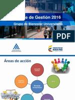 Informes de Gestión 2016-2017