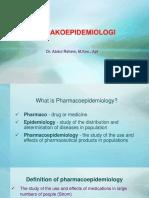 1. Farmakoepidemiologi 2018 Umm