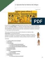 arqueoegipto.net-Egipto para niños Aprende fácil la historia del Antiguo Egipto.pdf