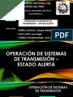 Operación de Sistemas de Transmisión