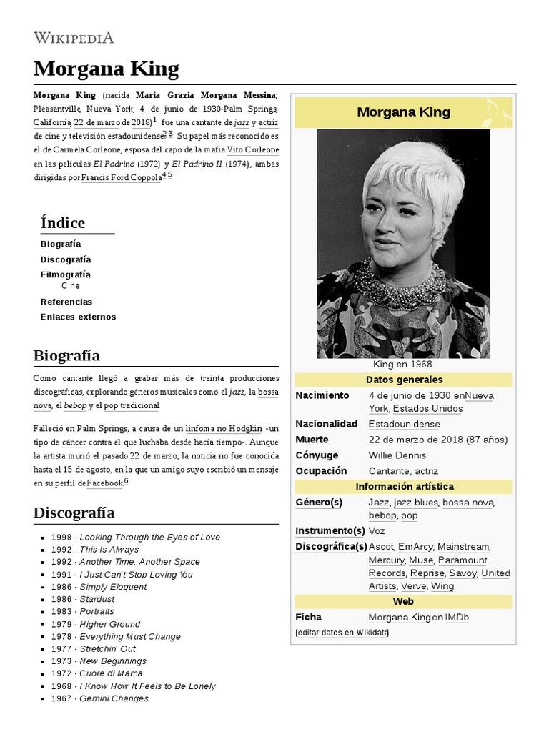Morgana King