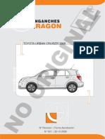 Manual Toyota Urban Crusier Carreta