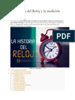 La Historia Del Reloj y La Medición Del Tiempo