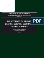 Sinnott-Armstrong W. (ed.), Howarth R.B. (ed.) - Perspectives on Climate Change_ Science, Economics, Politics, Ethics, Volume 5 (Advances in the Economics of Environmenal Resources) (2005)