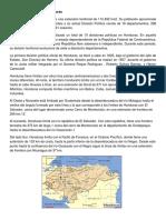 Extensión Territorial de Honduras