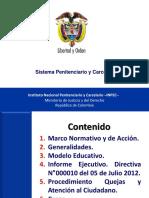 Informe Del Sistema Penitenciario y Carcelario