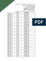 1070627師大英語會考自行報名考生試場查詢