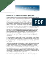 El Origen de La Patagonia Un Misterio Apasionante