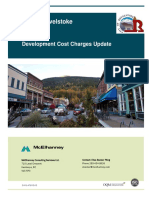 Revelstoke Development Cost Charge Bylaw  Background Report