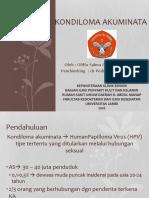 Kondiloma Akuminata.pptx