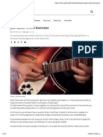 Jazz Guitar Chord Exercises | Guitarworld