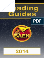 Reading Guides 2014
