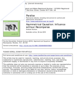 Parallax Volume 16 issue 1 2010 [doi 10.1080%2F13534640903478833] Harman, Graham -- Asymmetrical Causation- Influence without Recompense.pdf