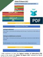 Global TB Report 2017
