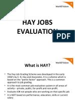 hayjobsevaluation-120814090054-phpapp01