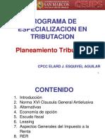 Curso Planeamiento CEUPS 2016