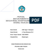 0 Cover Proposal Sekolah Model 2018