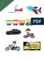 Transportation project pics for school