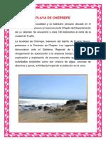 Playa de Chérrepe