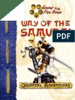 L5R D20 - Way of the Samurai.pdf