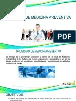 Programa Medicina Preventiva y Seguridad Industrial