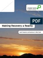 Making Recovery a Reality